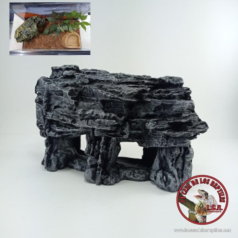 Escondite tipo roca rectangular