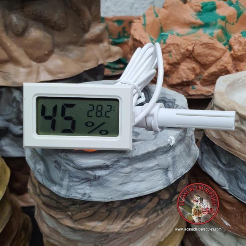 Termómetro higrómetro digital