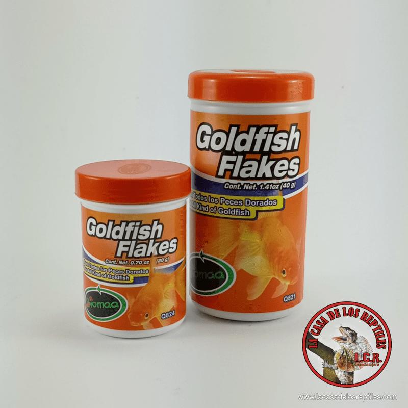 Alimento pez dorado